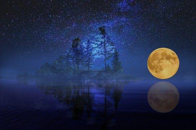 2021年7月24日バックムーン・水瓶座満月